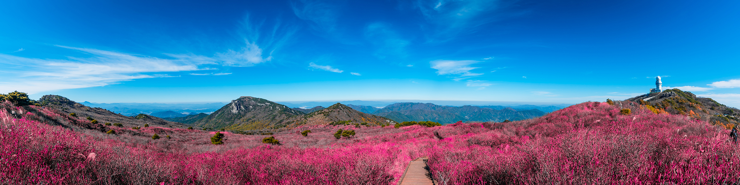South Korea Biseulsan Mountain