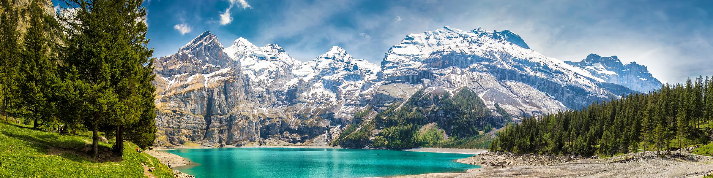 Switzerland Oeschinen Lake