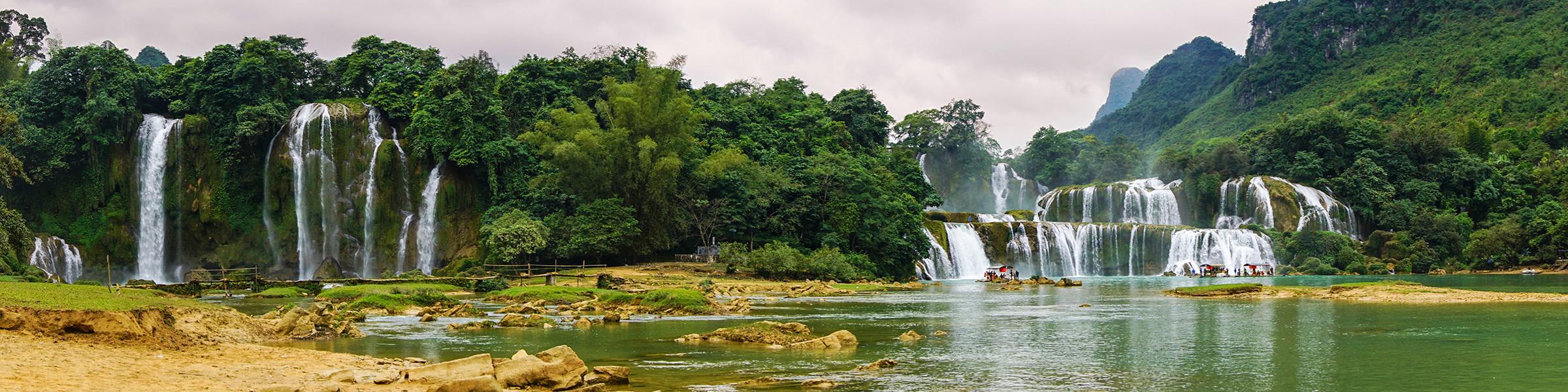 Vietnam Detian Falls