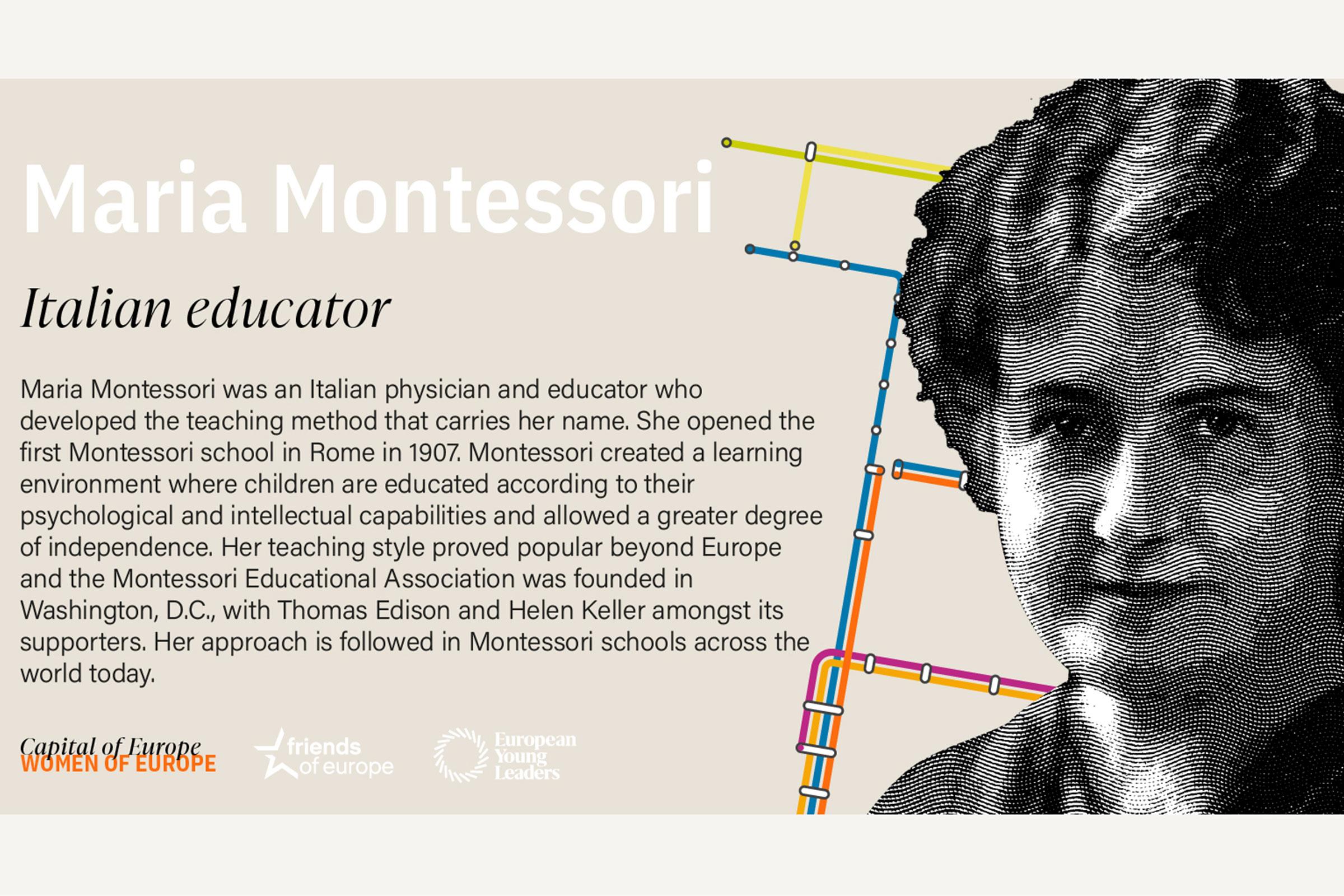 Maria Montessori bio