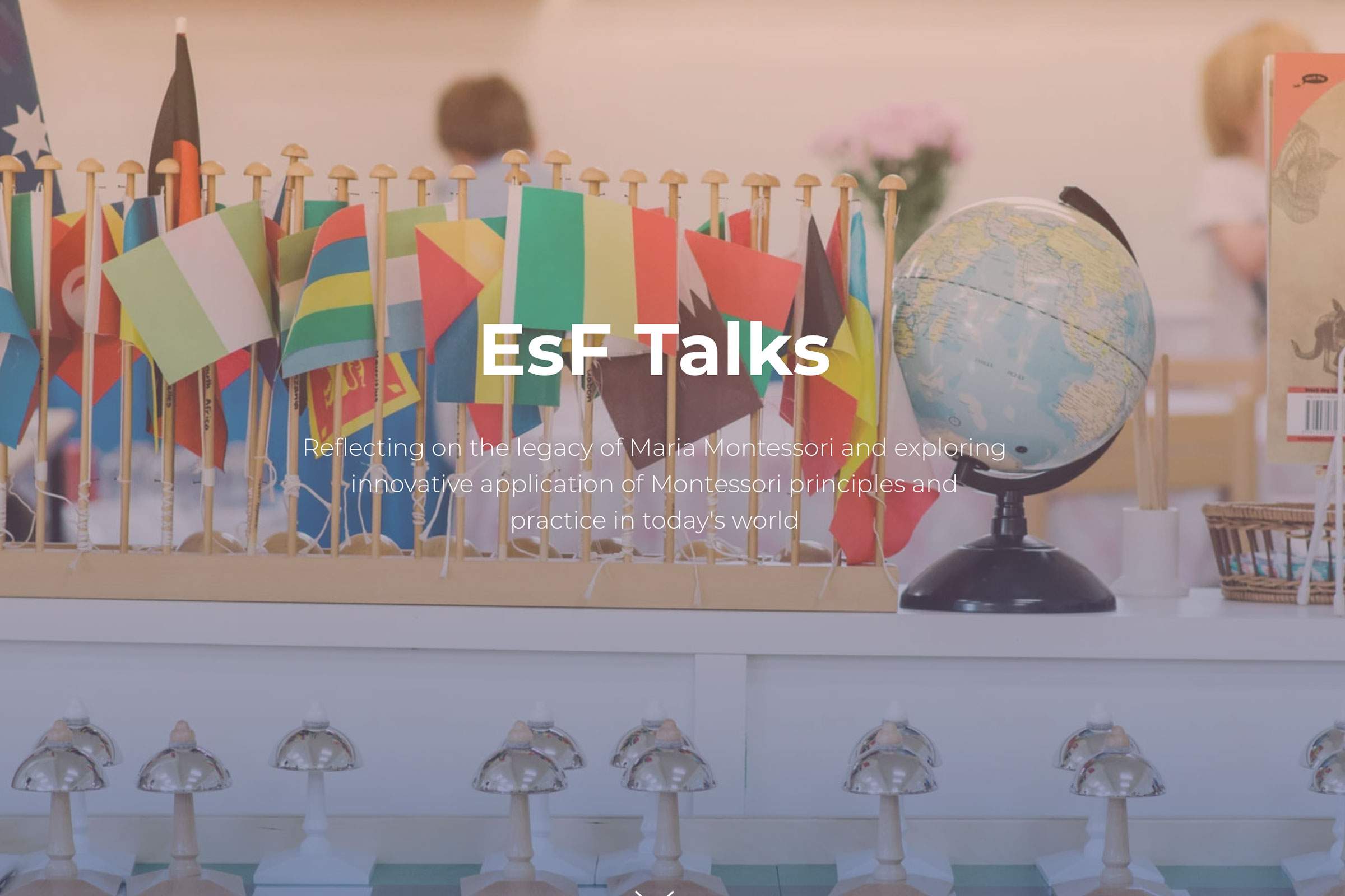 EsF Talks Flags and Globe