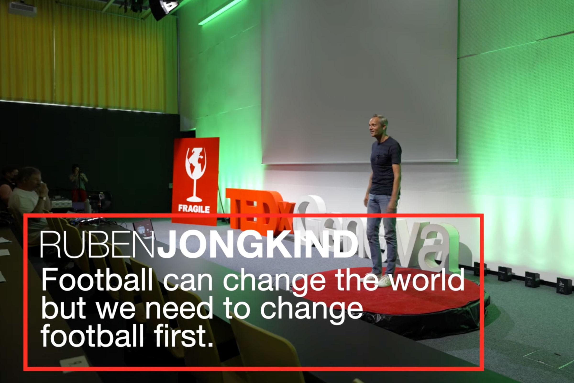 Ruben Jongkind, Montessori Sports, TED Talk
