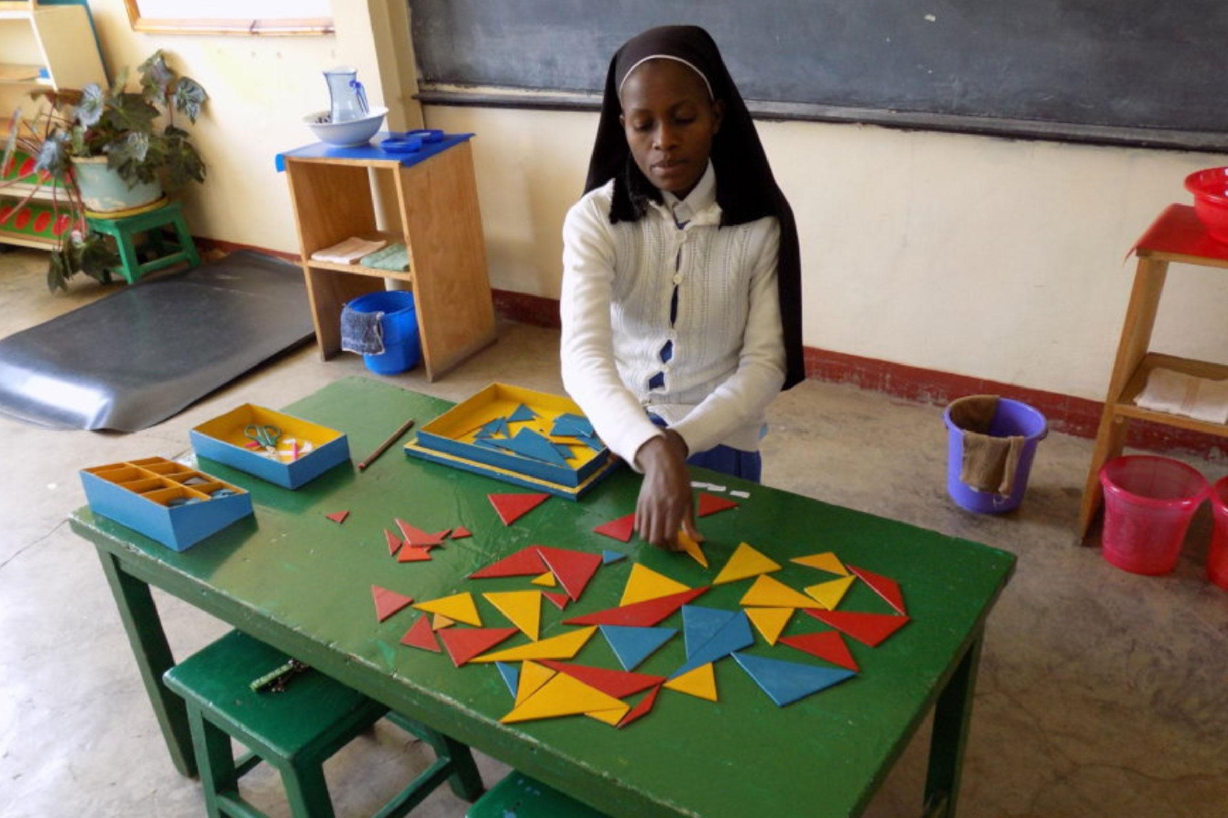 East Pokot Montessori Teacher in Training