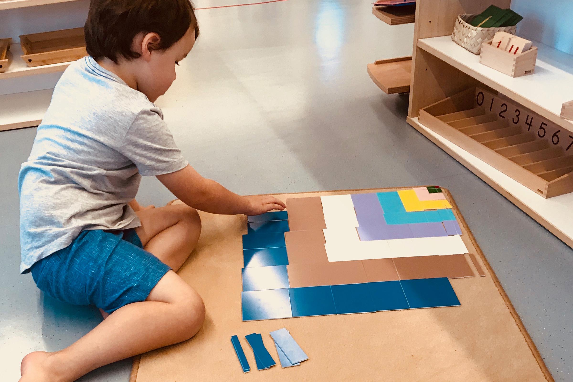 Montessori Quotes 3-6 Boy Decanomial