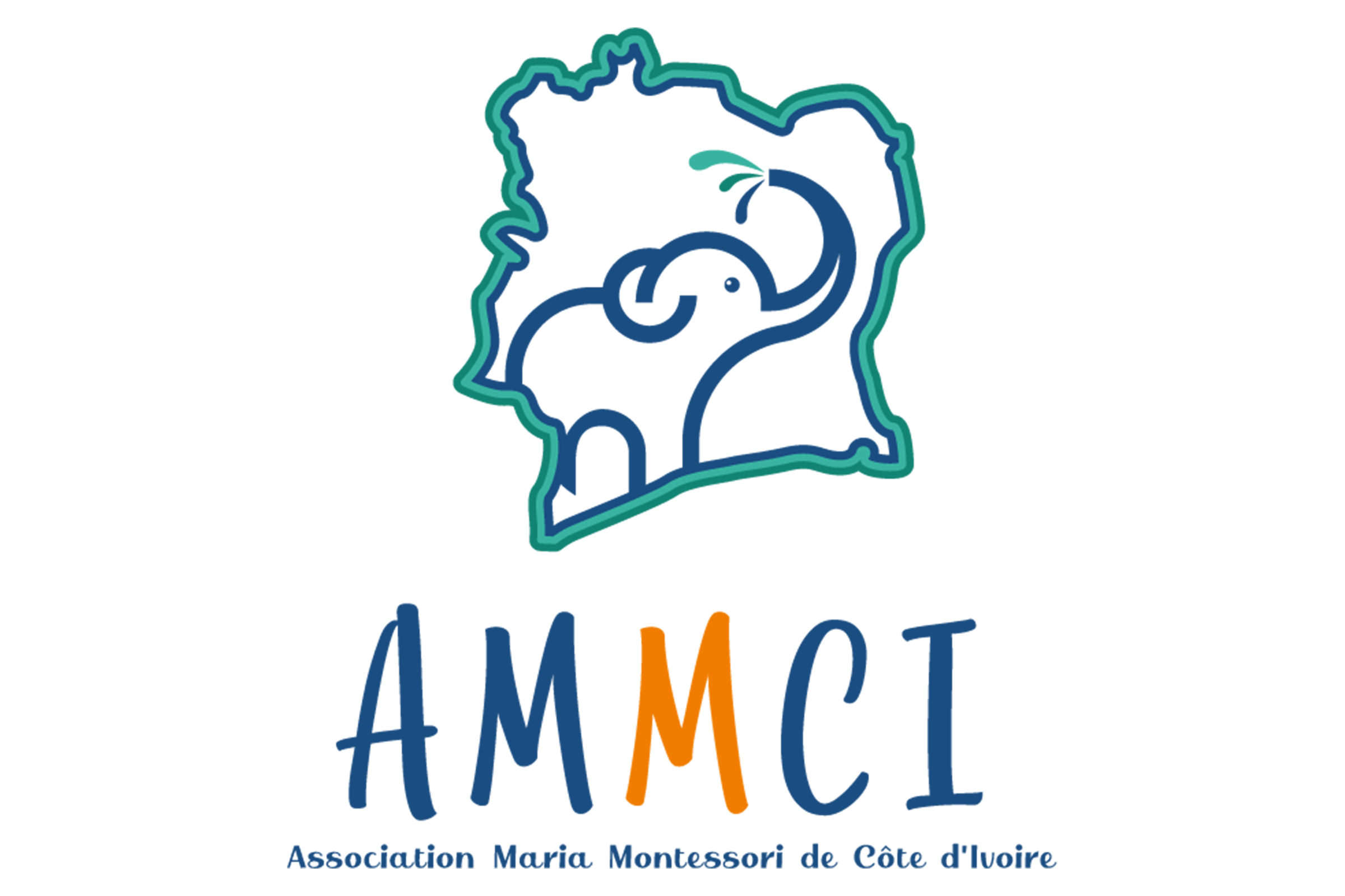 Association Maria Montessori de Côte d'Ivoire Logo