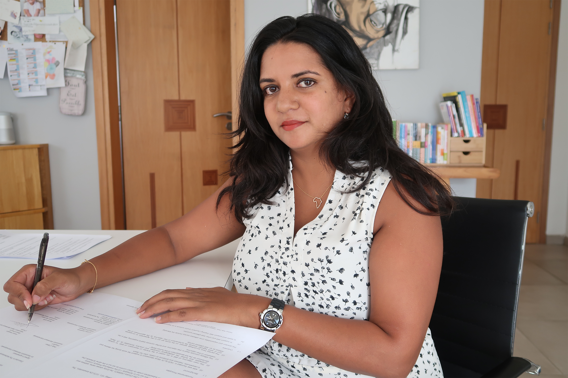 Anam Hassam, Association Maria Montessori de Côte d'Ivoire