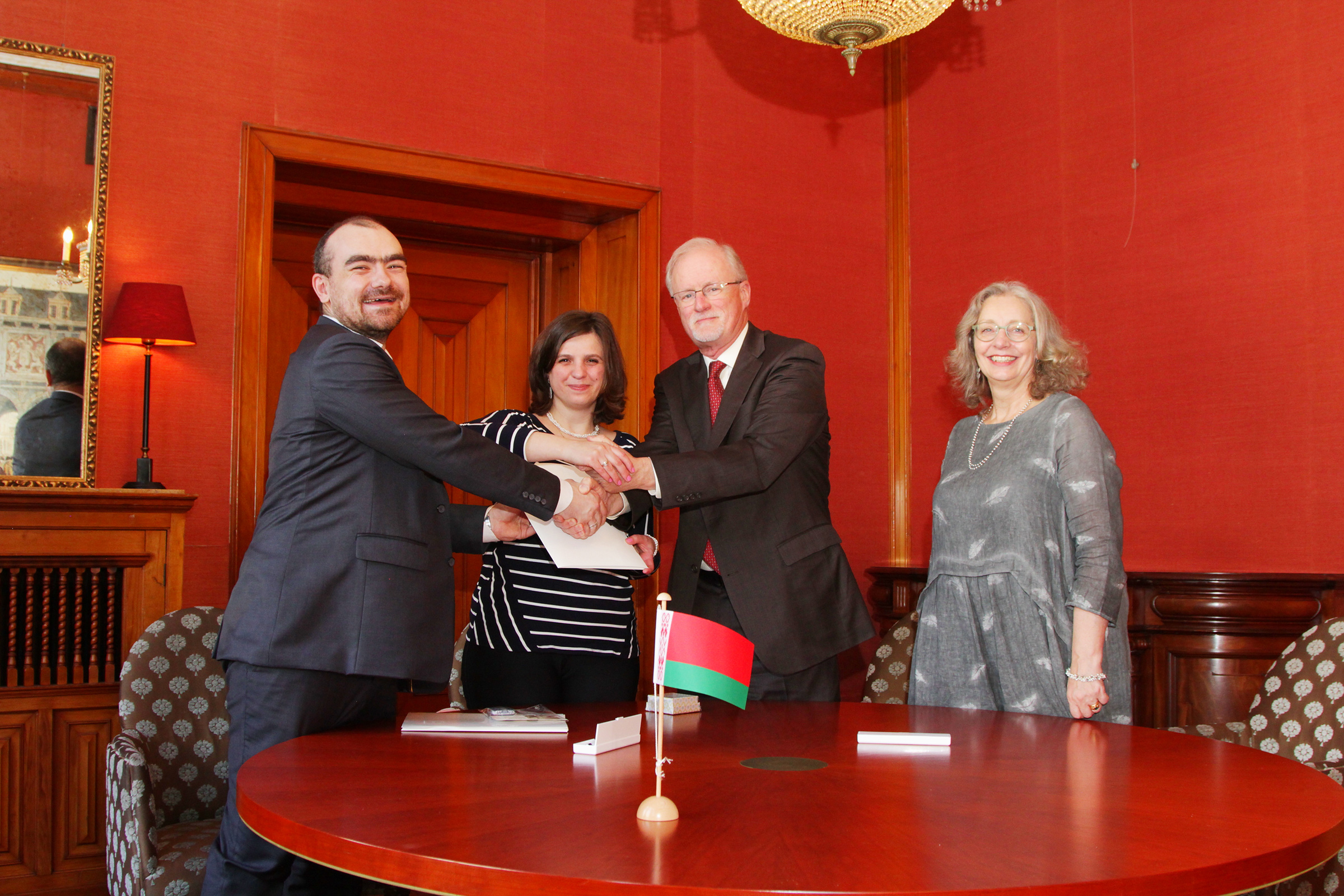 Montessori Belarus Foundation Official Signing Ceremony