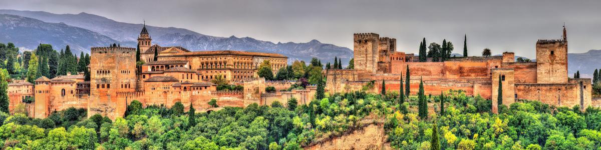 Spain Andalusia Granada Alhambra