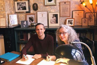 Ruben Jongkind & Lynne Lawrence