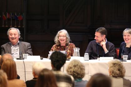 Andre Roberfroid, Lynne Lawrence, Ian Stockdale and Cherry Worthington