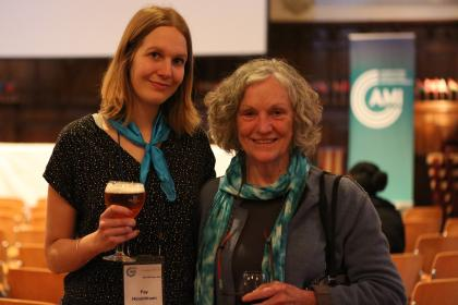 AMI staff member Fay Hendriksen and board member Jacquie Maughan