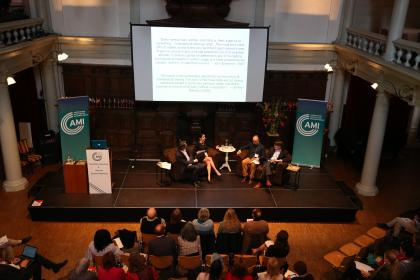 Panel discussion on research with Steve Hughes, Brooke Culclasure, Eddie Brummelman and Phil Zelazo