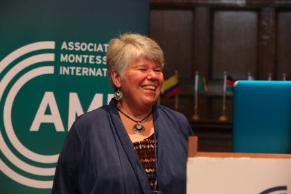 AMI trainer Carol Hicks