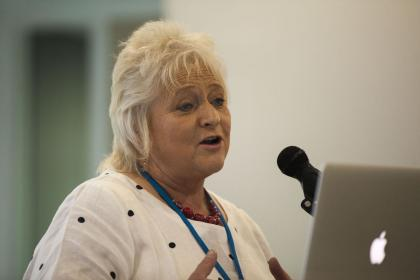 Anne Kelly presents on Montessori for Ageing and Dementia.