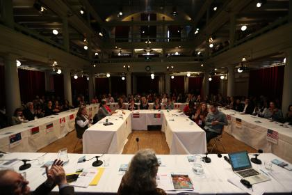 The Affiliates Societies Meeting at the Rode Hoed in Amsterdam