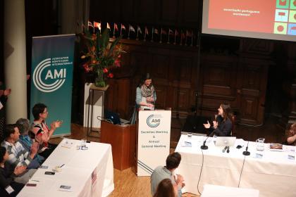 Joana Rebelo presents the work and future plans for Associacoa Portuguesa Montessori